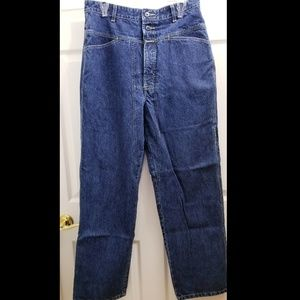 Men's Girbaud Retro Jeans, Indigo/Blue, 34x32, EUC